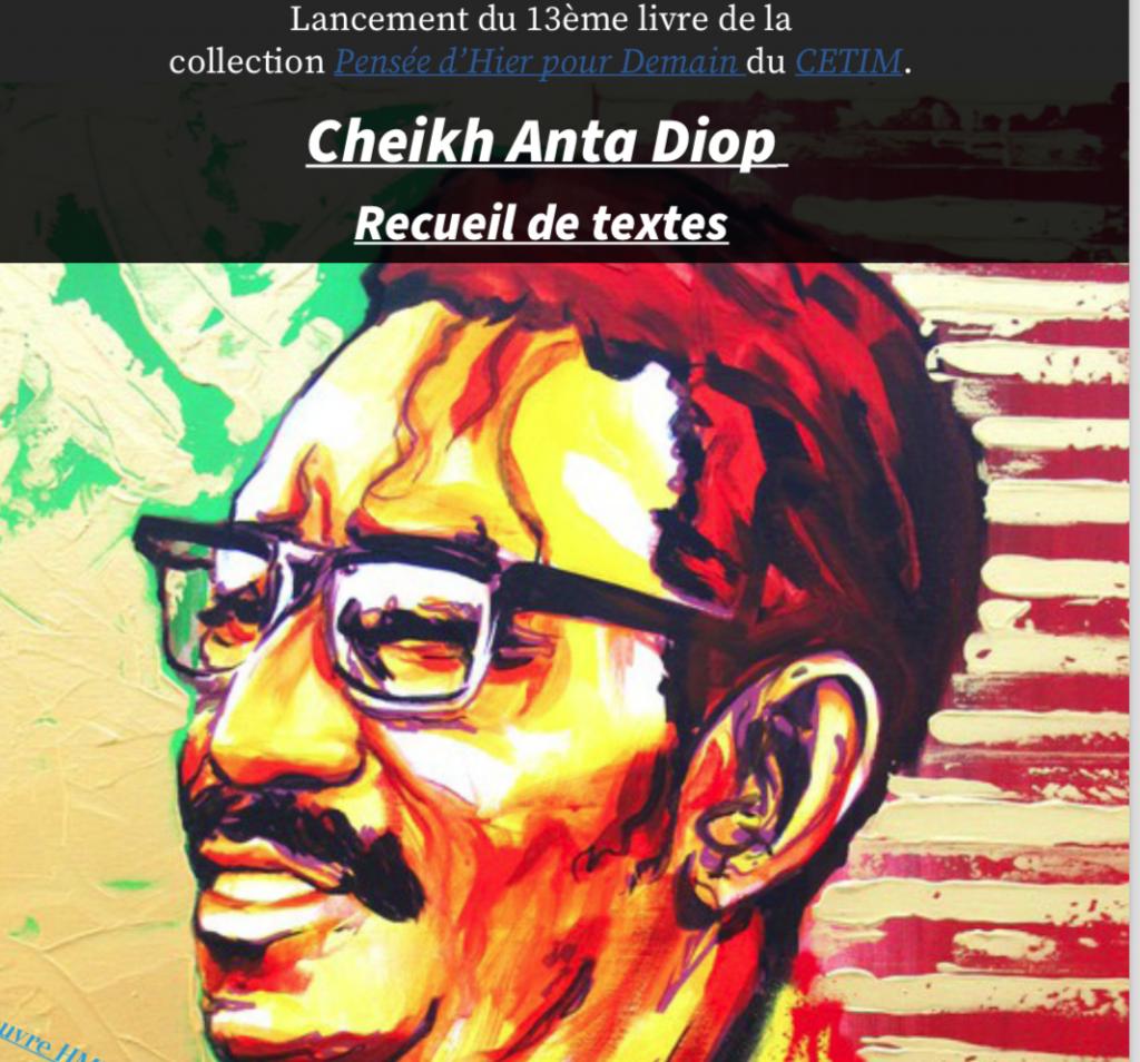 Lancement Livre Cheikh Anta Diop