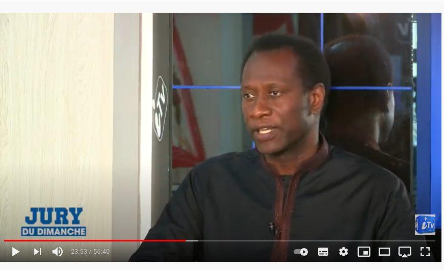 Entrevue ITV émission sénégalaise